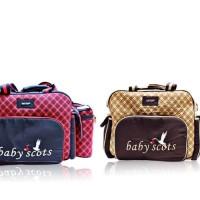 Tas Bayi Tas Diaper Bag Bayi Tas Bayi Besar Baby Scots Tas Travelling
