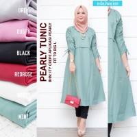 PEARLY TUNIC - Red Rose