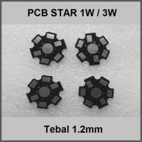 Heatsink Star Pcb 1W 3W Alumunium 20mm