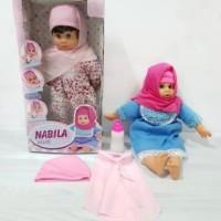 Boneka Hijab Mengaji NABILA / ANISA Jilbab Boneka Bayi
