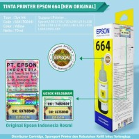 Tinta Printer Refill Epson Original Ink T664 L100 L200 L120 L210 L220