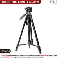 TRIPOD SOMITA ST-3520 HIGH QUALITY GOOD CHOICE Barang Oke