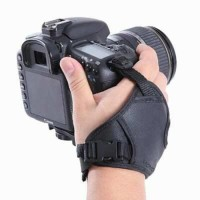 Leather Strap Camera DSLR SLR Tali Belt Bahu Tangan Kamera Grip
