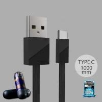Remax Blade Kabel USB Type C - RC-105a - Hitam