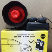 Alarm mobil original IPF IP-07 Remote Control One Way Anti-theft