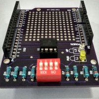 Modul EEPROM 512K - Shield Uno (Include Library)-Easy to Use