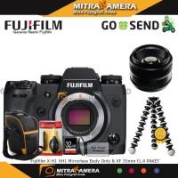 Harga fujifilm x h1 xh1 mirrorless body only xf 35mm f1 4 | Pembandingharga.com