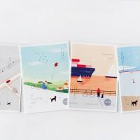 Traveling Light Ruled Notebook B5 / Buku Catatan / Buku Tulis