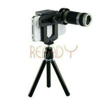 Jual [PROMO] Lensa Tele Telezoom 8x Bonus Tripod untuk HP Smartphone Murah
