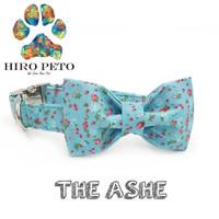 kalung anjing pita kucing dasi hewan dog collar handmade - the ashe