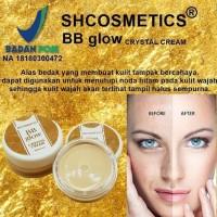 BB Glow Crystal Cream BPOM ORIGINAL SH Glowing Alas Bedak Rekomended
