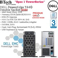 DELL Server T440 Intel Xeon Silver 4110 Double Socket TowerSeries