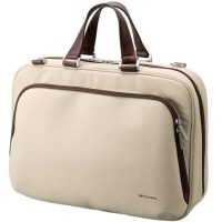 Elecom VARIO SCENA Carring Business Bag up to 15.6-inch Wide - Beige