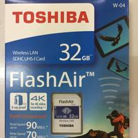 Toshiba Flash Air 32GB Wifi SD Card Wireless LAN Flashair Class 10 Ori
