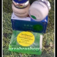 PAKET CREAM DEOONARD 7 Uk 20g siang, malam dan sabun antiseptik
