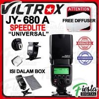 Lampu Flash Speedlite VILTROX JY680A + Free Diffuser