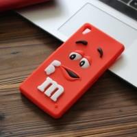 Harga xperia m4 aqua m m chocolate rubber tpu case 3d cute cover | Pembandingharga.com
