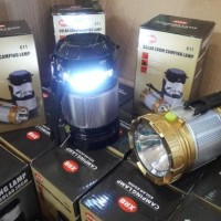 BANTING HARGA Lampu Lentera Senter Emergency Solar + Power Bank KPW230