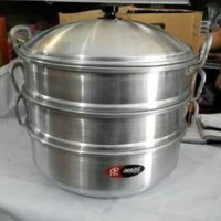 Harga new item dandang langseng tingkat 3 ukuran 40 cm merek jawa | Pembandingharga.com