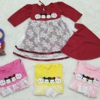 Pakaian Bayi Perempuan Baju & Sepatu Muslim / Gamis Baby Newbo AGB0224