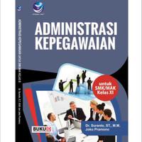 Buku Administrasi Kepegawaian kelas XI