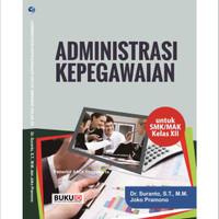 Buku Administrasi Kepegawaian Untuk SMK/MAK Kelas XII