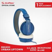 CLIPtec BMH830 - Urban Uptown   Stereo Headphone Murah Promo Bass
