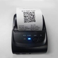 Mini Printer Thermal Bluetooth bisa hp android ios print t CUP54