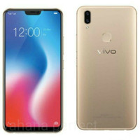 HP VIVO V9 RAM 4/64GB Garansi Vivo Indonesia 1Thn -BLACK&GOLD-
