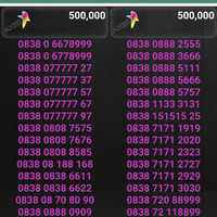 Nomor perdana cantik axis by XL AXIATA harga 500rb