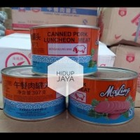 Ma Ling Canned Pork Luncheon Meat / Maling Daging Babi Kaleng