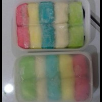 Pancake Durian Jumbo/Reguler Isi 10 Rainbow Duren Medan