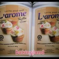 Vanili Susu Larome Untuk Cake Kue Dan Puding