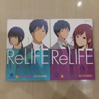 Relife vol 1 - 2 ongoing komik manga anime webtoons romance drama film