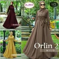 Jual Baju Muslimah Orlin Gamis Tunik Baju Muslim Abaya Muslim Murah