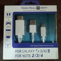 JUAL KABEL HDMI 11 PIN HDTV ADAPTER MHL OTG MICRO USB MOBILE PHONE