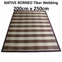 BARU ROTAN Tikar Karpet Anyaman Rotan/Webbing Carpet 200cm x 250cm