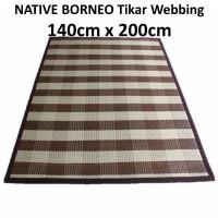 BARU ROTAN Tikar Karpet Anyaman Rotan/Webbing Carpet 140cm x200cm