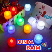 LILIN LED CANDLES L118 / LILIN MINI ELEKTRIK / LAMPU LED HIAS ELECTRIC