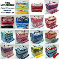 Tas Bekal Susun MEDIUM / Lunch Box Bag Aluminium Foil Premium