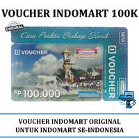 Voucher / Vocher Indomaret / Indomart pecahan Rp 100.000