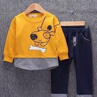 Baju Anak Korea Boy Setelan Laki