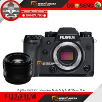 Harga fujifilm x h1 xh1 mirrorless body only xf 35mm f1 | Pembandingharga.com