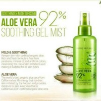Mist spray/ Nature Republic/ aloe vera/ aloe gel/ pelembab wajah