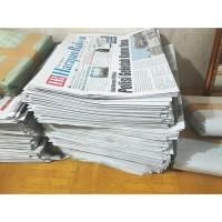 Koran Bekas cocok untuk pembungkus, packing barang dll
