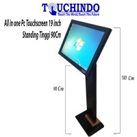 All In One Pc Touchscreen Standing 1 Meter AIOPC19TCD