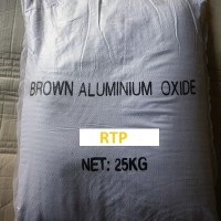 Brown alumunium oxide / alumunium / alumina oxide