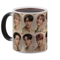 Magic Mug Wanna One One World Mug Kpop Mug K Pop Bunglon Import 325 Ml