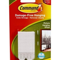 3M Command Medium Picture Hanging Strip (Strip tempel foto ke dinding)