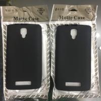 SLIM BLACK MATTE CASE LENOVO A1000 SOFTCASE SILICONE MATTE A1000